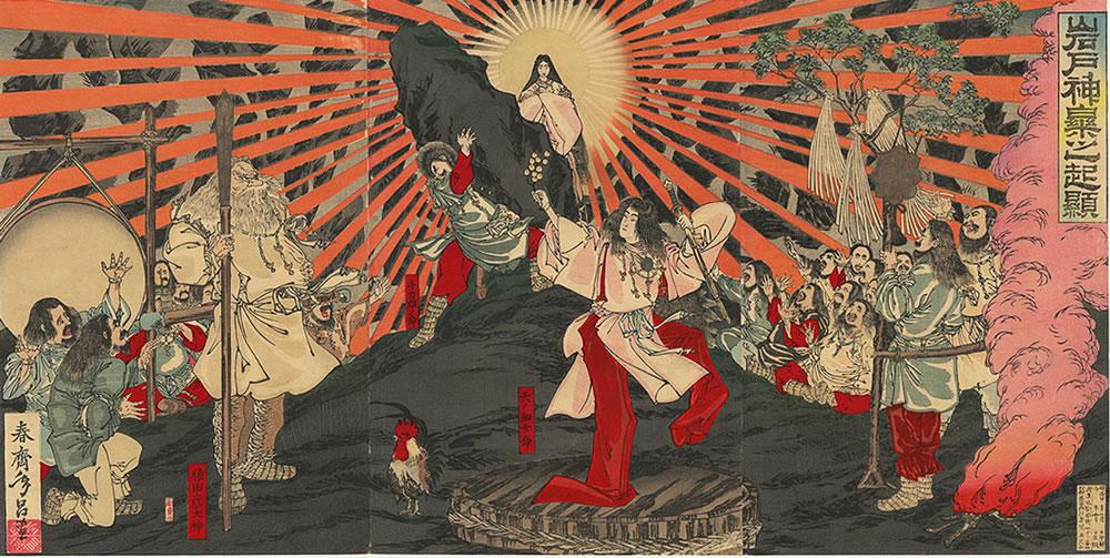 天照大神の天の岩戸神話